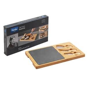 Denby James Martin - Cheese Board Set