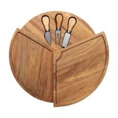 Denby Denby James Martin 4 Piece Cheese Board Set