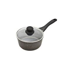 Denby Granite Effect Cast Aluminium 20cm Saucepan With Lid