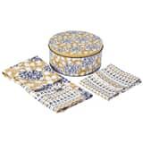 Denby Monsoon Kitchen Collection Cordoba Apron and Tea Towel Gift Set