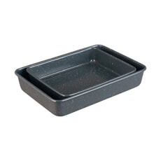 Denby Bakeware - Quantanium Roasting Trays Set Of 2
