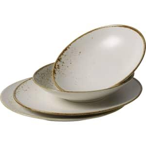 Villeroy and Boch Vivo Stoneware White - Dinner Plate Set Of 4