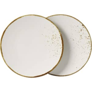 Villeroy and Boch Vivo Stoneware White - Salad Plate Set Of 2