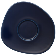 Villeroy And Boch Organic Dark Blue Saucer for coffee cup 17.5cm