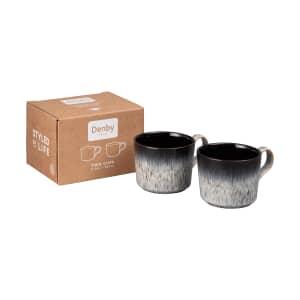 Denby Halo Brew Tea/Coffee Cup Set Of 2