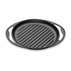 Le Creuset Cast Iron 25cm Skinny Grill Satin Black