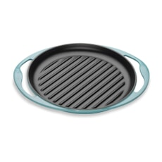 Le Creuset Cast Iron 25cm Skinny Grill Teal
