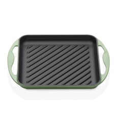 Le Creuset Cast Iron Square Grill 24cm Rosemary