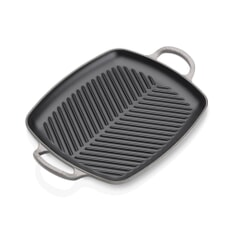Le Creuset Signature Cast Iron 30cm Rectangular Grill Flint