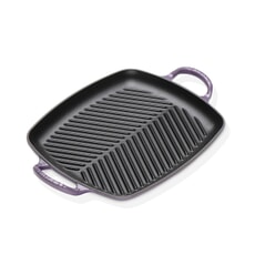 Le Creuset Signature Cast Iron 30cm Rectangular Grill Ultra Violet