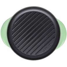 Le Creuset Cast Iron 25cm Round Grill Rosemary
