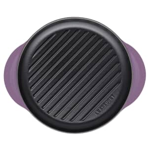 Le Creuset Cast Iron 25cm Round Grill Ultra Violet