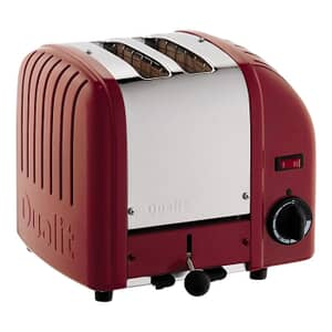 Dualit Classic Vario AWS 2 Slot Toaster Red