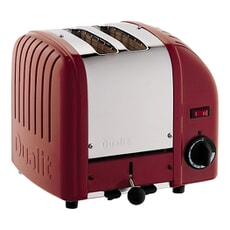Dualit Classic Vario AWS 2 Slot Toaster Red 20246