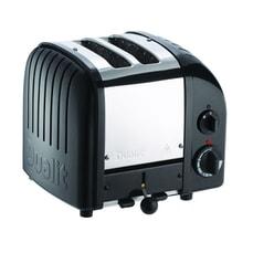 Dualit Classic Vario AWS 2 Slot Toaster Black 20433
