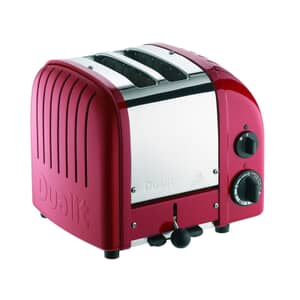 Dualit Classic Vario AWS 2 Slot Toaster Red 20442