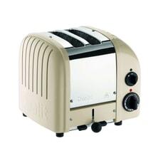 Dualit Classic Vario AWS 2 Slot Toaster Cream