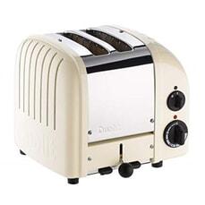 Dualit Classic Vario AWS 2 Slot Toaster Canvas White
