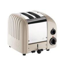 Dualit Classic Vario AWS 2 Slot Toaster Clay