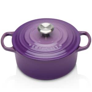 Le Creuset Signature Cast Iron 18cm Round Casserole Ultra Violet