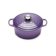 Le Creuset Signature Cast Iron 20cm Round Casserole Ultra Violet