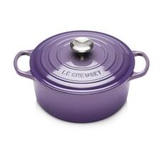 Le Creuset Signature Cast Iron 28cm Round Casserole Ultra Violet