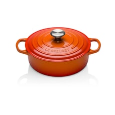 Le Creuset Signature Cast Iron 30cm Round Chefs Pan Volcanic