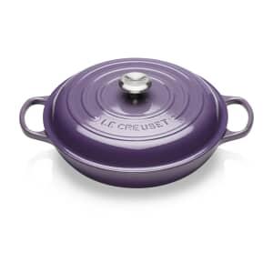 Le Creuset Signature Cast Iron 30cm Shallow Casserole Ultra Violet