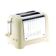 Dualit Lite 2 Slot Toaster Cream Gloss 26202