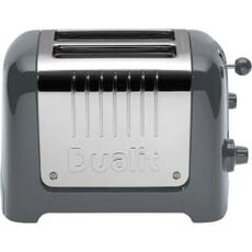 Dualit Lite 2 Slot Toaster Grey 26204