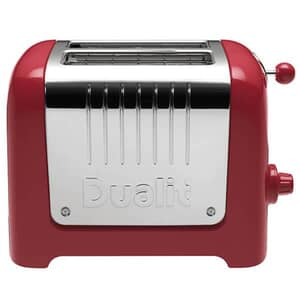 Dualit Lite 2 Slot Toaster Gloss Red 26207