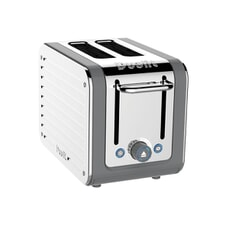 Dualit Architect 2 Slot Toaster Grey With S/S Panel