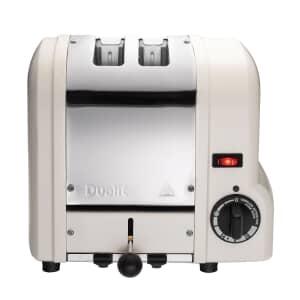 Dualit Origins 2 Slot Toaster Canvas White