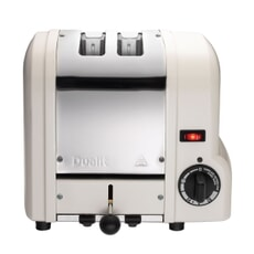 Dualit Origins 2 Slot Toaster Canvas White