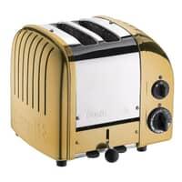 Dualit Classic Vario AWS 2 Slot Toaster Brass