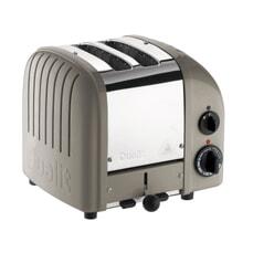 Dualit Classic Vario AWS 2 Slot Toaster Shadow