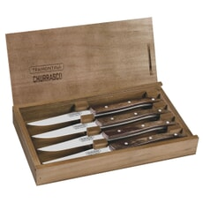 Tramontina Steak Knives 4pcs Brown