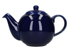 London Pottery Globe� 6 Cup Teapot Cobalt Blue
