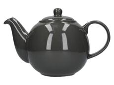 London Pottery Globe� 6 Cup Teapot London Grey