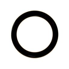 Denby Praline Noir Wide Rimmed Dinner Plate