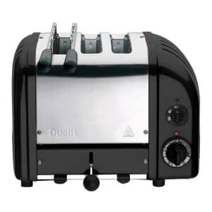 Dualit Classic Vario Combi AWS 2+1 Toaster Black