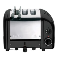 Dualit Classic Vario Combi AWS 2+1 Toaster Black 31205