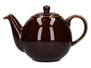 London Pottery Globe� 4 Cup Teapot Rockingham Brown