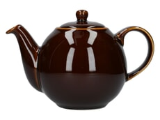 London Pottery Globe� 4 Cup Teapot Rockingham Brown