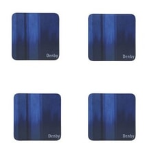 Denby Lifestyle Blue Coasters Set Of 4