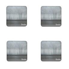 Denby Lifestyle Grey Coasters Set Of 4