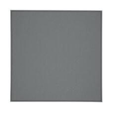 Denby Black Grey Reversable Faux Leather Placemats Set Of 4