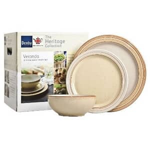 Denby Heritage Veranda 12 Piece Box Set