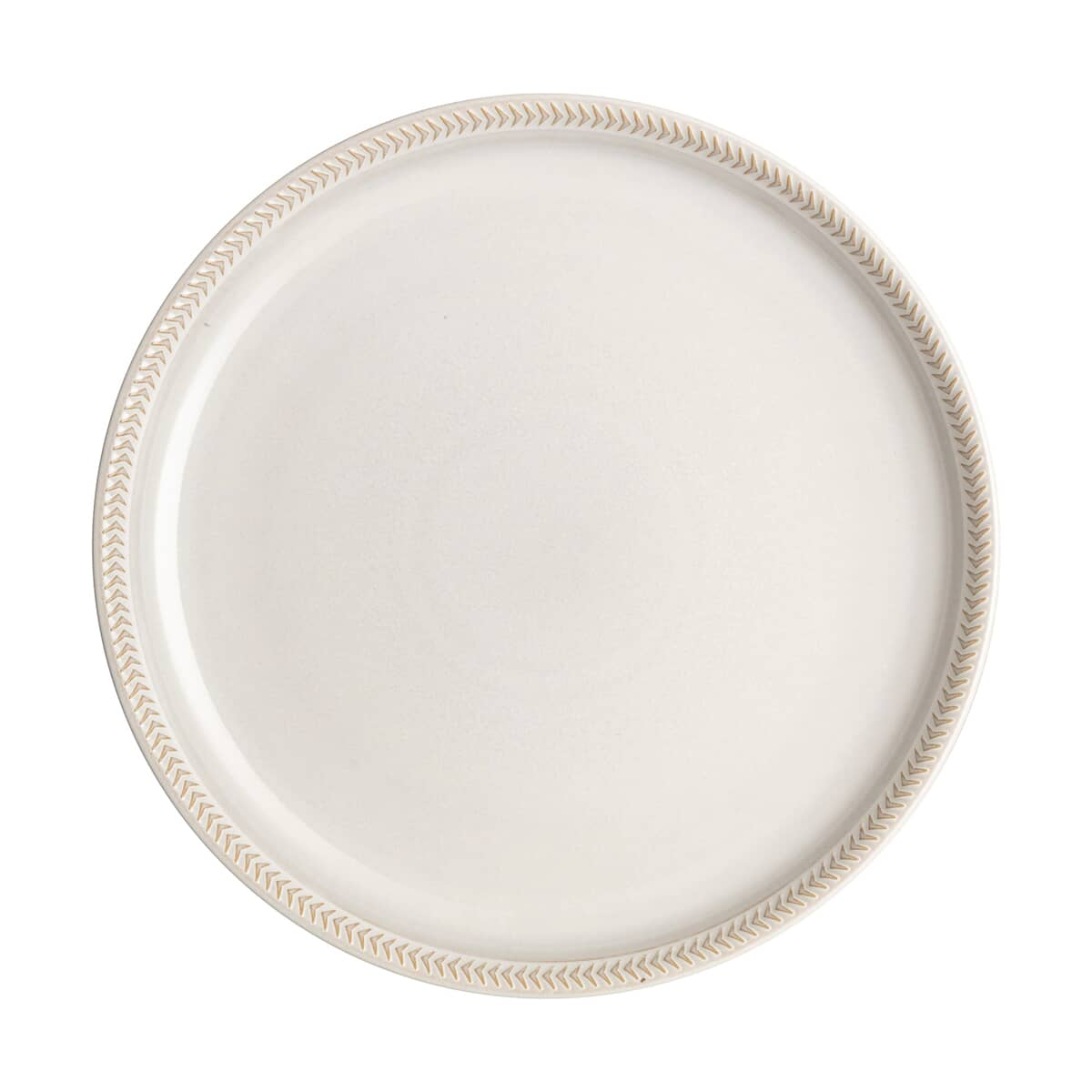 Denby Natural Canvas Textured Dessert/Salad Coupe Plate