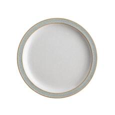 Denby Elements Light Grey Tea Plate